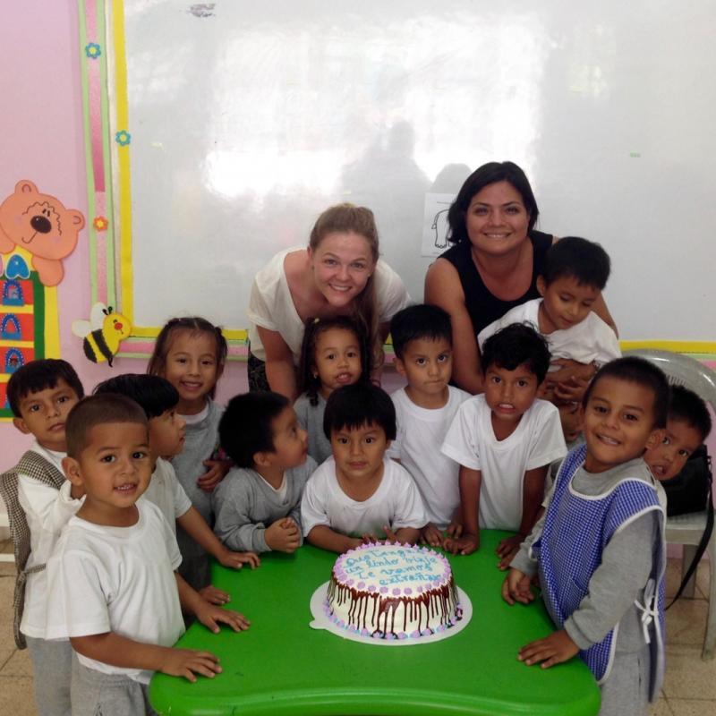 Emily L in Ecuador